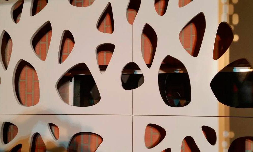 Panele ażurowe na fasady