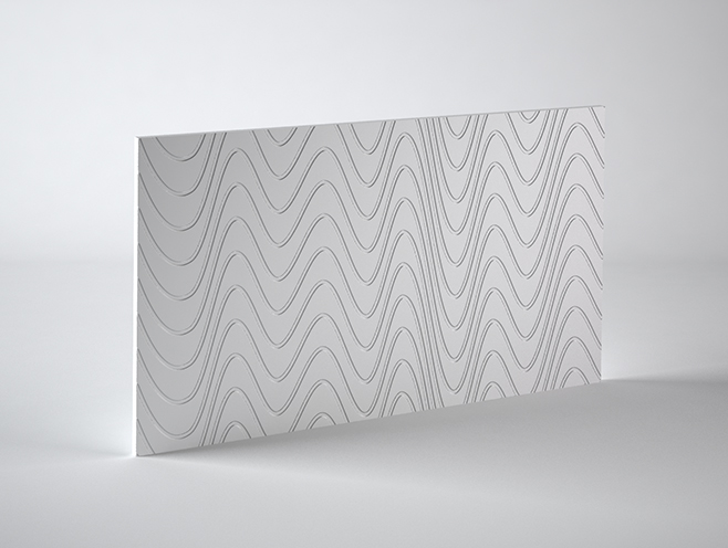 PANEL 3D WAVES