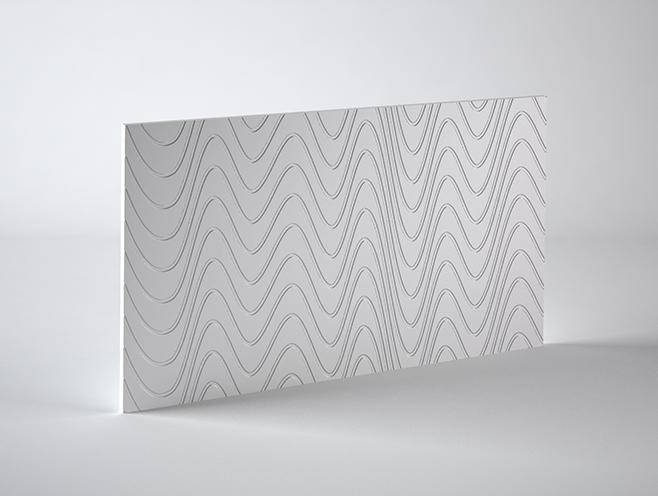 PANEL 3D WAVES