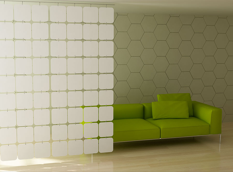 panele ażurowe-ścianki ażurowe-cubic