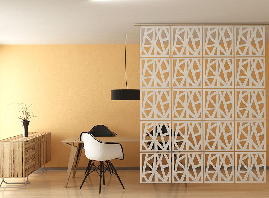 panel ażurowy-ażur dekoracyjny-triangle