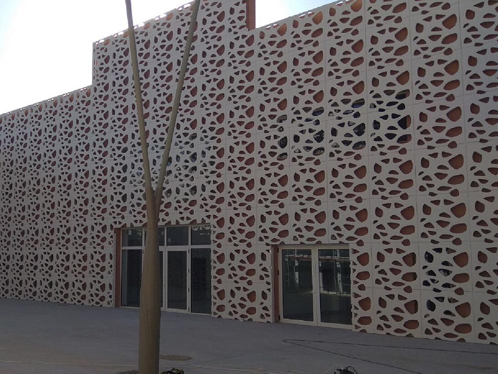 panel ażurowy-ażurowe fasady